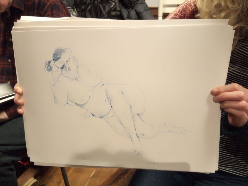 JJ's Tuesday Life Drawing
